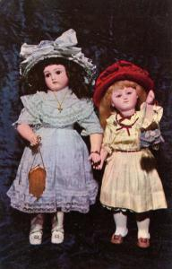 MA - Sandwich. Yesteryears Museum. French Belton and French Steiner Dolls