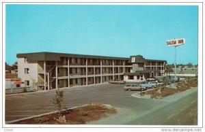 Salem Inn , Oregon, Motel hotel old cars 50´s 60´