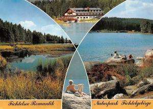 Fichtelsee Romantik Naturpark Fichtelgebirge Waldhotel Pension Cafe Seeterrasse