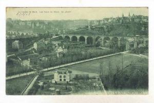 Le Viaduc Du Nord, Les Tours Du Rham, Le  Bock , Luxembourg, 1900-1910s