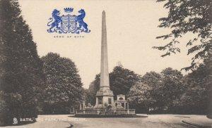 BATH , Somerset , England , 00-10s ; The Park, The Obelisk