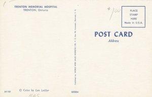 TRENTON , Ontario, 1950-60s ; Trenton Memorial Hospital