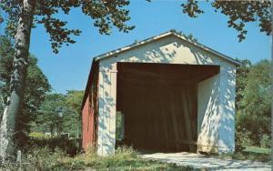 Rob Roy Covered Bridge over Big Shawnee Creek - Fountain County IN, Indiana