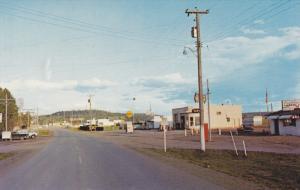 Old Cariboo Landmark , LAC LA HACHE , B.C. , Canada , 50-60s