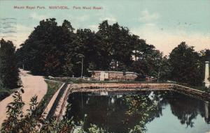 MONTREAL, Quebec, Canada, Mount Royal Park, PU-1912