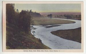 P949 old card view salmon river from bible hill truro nova scotia