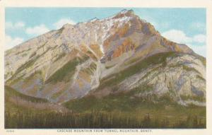 Cascade Mountain from Tunnel Mountain - Banff, Alberta, Canada WB
