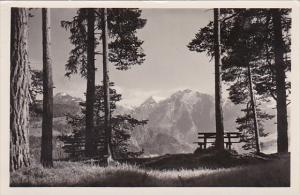 Switzerland Blick nach der Signinagruppe von Conn aus Photo