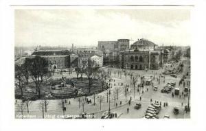 Kobenhavn -- Udsight over Kongens Nytorv, Denmark, 1910-30s