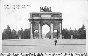 France Paris L'Arc des Tuileries