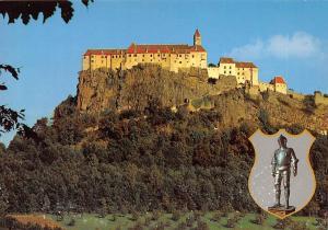 Riegersburg Hochburg Westseite Ritteruestung aus den Schauraeumen Castle