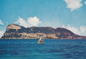 Sail Boat, GIBRALTAR, 50-70´s