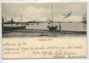 denmark, BANDHOLM, Havn Harbour (1903) Stamps