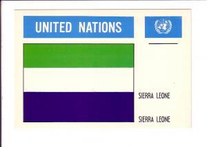 Sierra Leone, Flag, United Nations