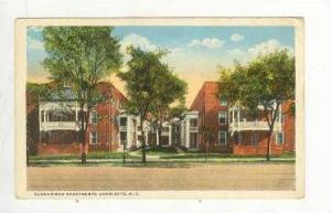 Blandwood Apartments, Charlotte, North Carolina, 1910-20s