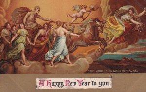 NEW YEAR, PU-1908; The Aurora by Guido Reni, Rome