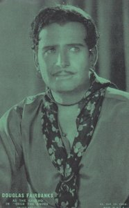 Actor DOUGLAS FAIRBANKS, 1920-30s; As Gaucho In Over the Andes