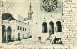 CPA AK MAROC TANGIER - The Treasury & Court House (93311)