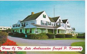 Massachusetts Cape Cod Hyannisport Home Of The Late Ambassador Joseph P Kennedy