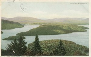 ADIRONDACK MTS., New York, PU-1912; Lake Placid from Eagle's Eyrie