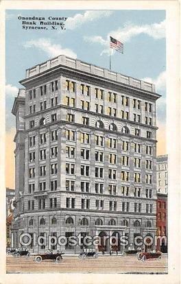 Onondaga County Savings Bank Building Syracuse, NY, USA Unused