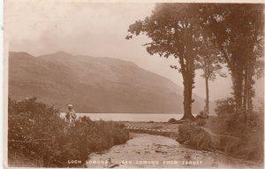 RP; SCOTLAND, 20-40s; Loch Lomond, Ben Lomond From Tarbet, TUCK