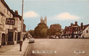 Marlborough, High Street, auto, cars