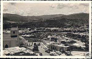 venezuela, CARACAS, General View (1950s) RPPC