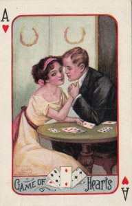 Playing Cards ; Game of Hearts , 1915