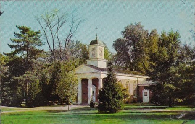 Indiana Hanover Memorial Chapel Hanover College