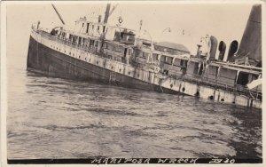 RP: BELLA BELLA , B.C. , Canada , 00-10s ; MARIPOSA Shipwreck