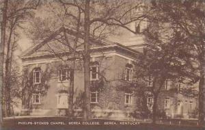 Kentucky Berea Phelps Stokes Chapel Berea College Artvue