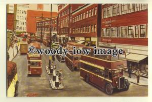 tm5578 - Guy & Daimler Wartime Utility Buses - art postcard