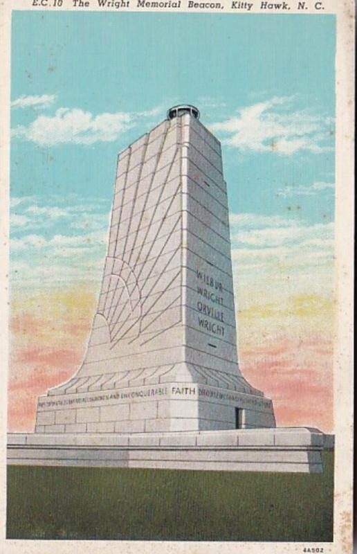 North Carolina Kill Devil Hills The Wright Memorial