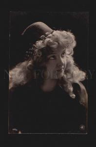 074180 Arabian BELLE Lady in HAREM Actress Vintage PHOTO PC