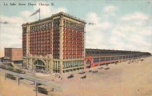 Illinois Chicago La Salle Street Depot