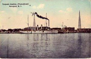 WATERFRONT TORPEDO STATION NEWPORT, RI 1914
