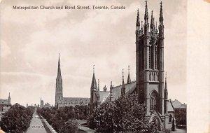 Metropolitan Church and Bond Street Toronto Unused