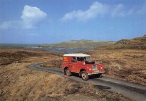 Royal Mail Postcard, Postbus Service 21 to Bettyhill Post Office, Scotland W72