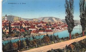 Slovenia, Marburg an der Drau, Maribor, partial view, panorama 1915