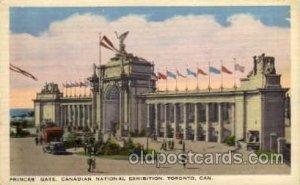 Princes Gate, Canadian National Exposition, Toronto Canada, 1936 Worlds Fair ...