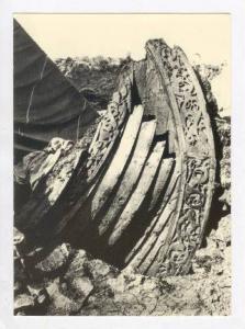Norge/Norway   Osebergskipet haugen fra 800 arene, 60-70s
