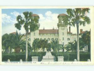Unused W-Border ALCAZAR HOTEL St. Augustine Florida FL hr8574