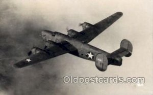 Consolidated C-87, Military Airplane Postcard Postcards Writing On Back