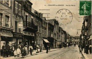 CPA CHALONS-sur-MARNE Rue de Marne (864549)