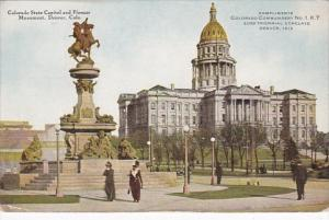 Colorado Denver State Capitol and Pioneer Monument
