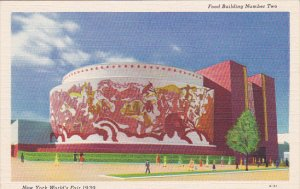 New York World's Fair 1939 Food Building Number Two