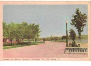 Boulevard , SHAWINIGAN FALLS, Quebec , Canada , 30-40s
