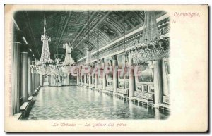 Old Postcard Chateau La Galerie des Fetes
