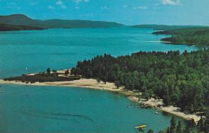 Scenic view,  Ryan's Campsite, Deep River, Ontario, Canada,  40-60s